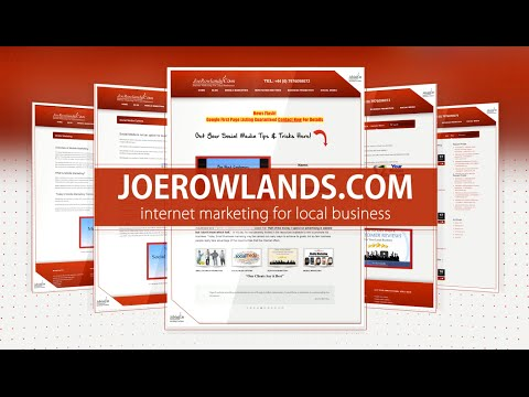 Top Search Engine Optimisation Consultant Joe Rowlands for Best SEO Agency Tel 07976098072