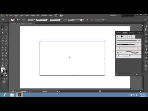 How to Create a Pattern Brush with Adobe Illustrator CS6