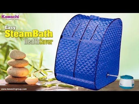 Kawachi Personal Home Therapeutic Portable Steam Spa Bath