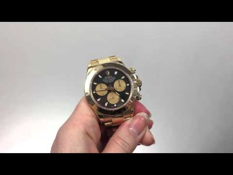 How to Use the Rolex Cosmograph Daytona Chronograph / Measuring Elapsed Time - Watch Chest