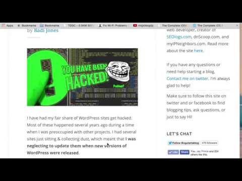 How to Find and Remove Hacked WordPress Files