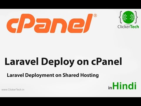 How to Deploy Laravel Project on cPanel/ Web Server in Hindi Easiest Way
