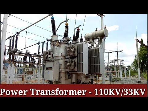 Power Transformer |Substation 110KV/33KV step down | in Tamil