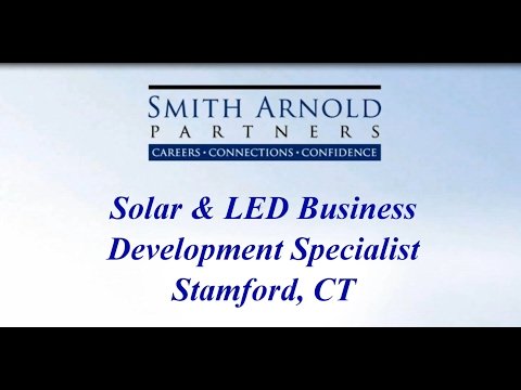 Solar Business Development Specialist (CLOSED)   Smith Arnold Partners