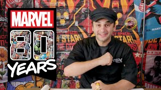 Cake Boss Ralph Sculpts Super Heroes for Marvel's 80th Birthday!