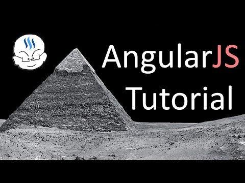 AngularJS Lesson 1 - Set up Visual Studio, ng-app and ng-init Directives, Expressions
