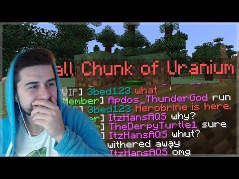 WE PLANTED HAZARDOUS URANIUM ON THEM!!! Funny Minecraft Player Trolls (Minecraft Trolling)