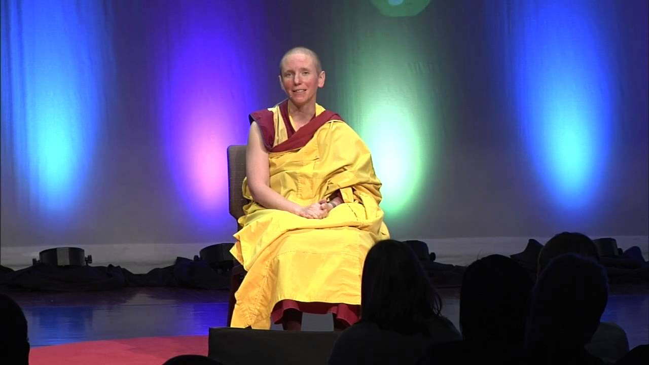 Happiness is all in your mind: Gen Kelsang Nyema at TEDxGreenville 2014