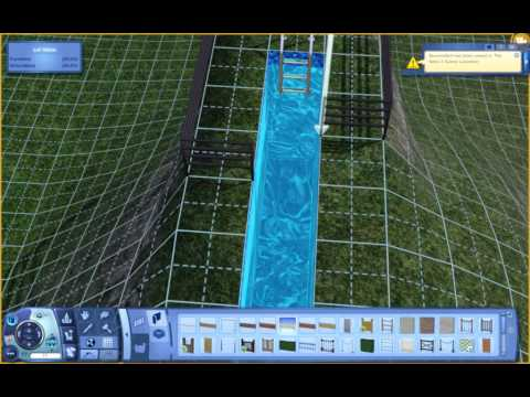 The Sims 3 - Create a WaterSlide