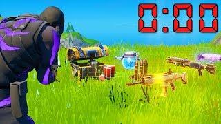 60 seconds to loot challenge