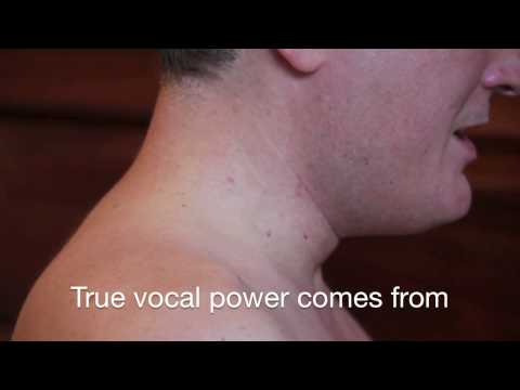 How to sing - 4. Relaxing the jaw and throat
