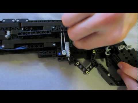 Lego Winchester Model 1887 (working)