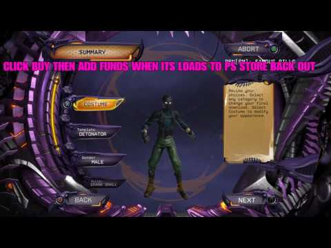 HOW TO GET ANY POWER DCUO WOOOOW