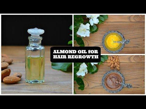 Just a Tsp Of Almond Oil Will Make Your Hair Grow Like Crazy !