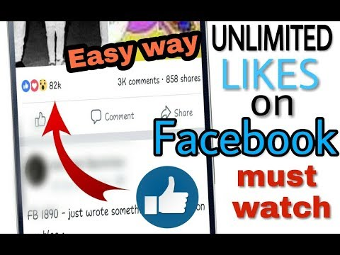Get Unlimited likes on facebook in easy way || By - Techno friend