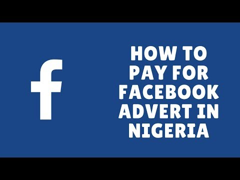 how to pay for facebook advert in nigeria
