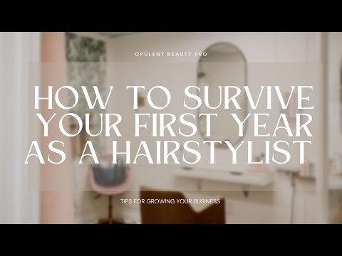 How to survive as a first year hair stylist... With Jesse and Patty