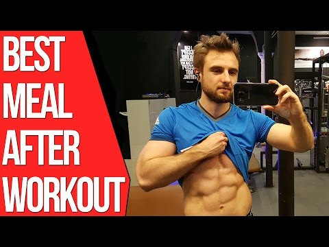 What to Eat After a Workout to Build Muscle and Burn Fat