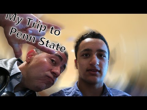 My College Visit to Penn State (University Park) – Campus + Dorm Tour- [2]