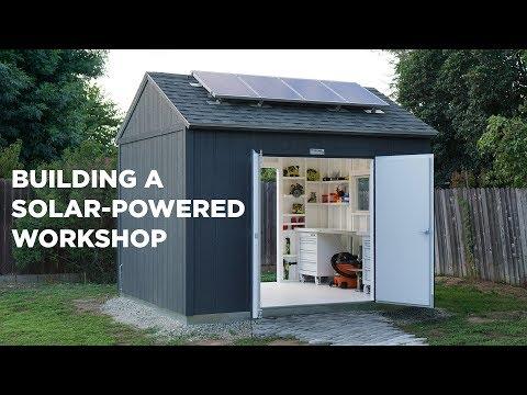 Xxx Mp4 Building A Solar Powered Workshop 3gp Sex