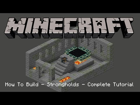 How to Build - Stronghold - Complete Tutorial