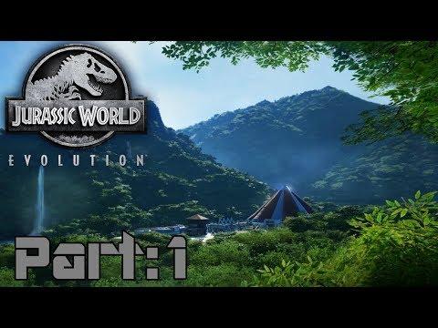 Jurassic World Evolution - part 1 - Operation Genesis reborn!