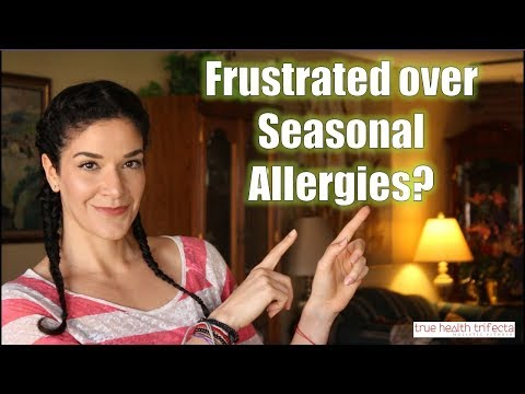 How to stop pain & frustration from ALLERGIES! - Stress Relief / EFT / Cat Lady Fitness