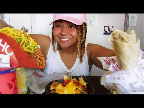 Taco Bell Mukbang | Two Truths, One Lie
