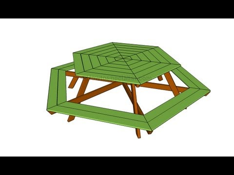How to build a hexagon table