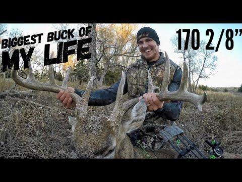 Josh Bow Hunts A Monster Kansas Buck In Rut!  Bowmar Bowhunting  
