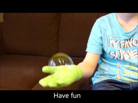 How to make bubbles that don't pop, unbreakable bubbles, shatterproof bubbles