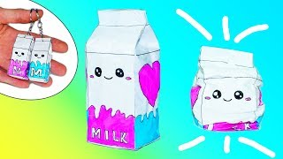 Download DIY PAPER SQUISHY | HOW TO MAKE A SQUISHY | 3D Milk Paper Squishy Video
