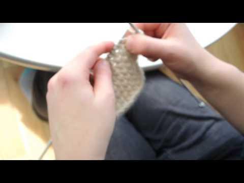 Buchanan Street Sweater by Littletheorem - How to knit star stitch