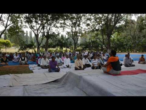 SWATCHHTA PAKHWADA @ IIHR : Yoga Practice Programme on 26.10.2016