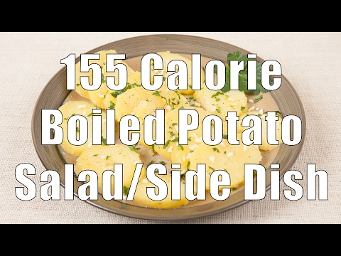 155 Calorie Boiled Potato Salad/Side Dish (Home Cooking 101) DiTuro Productions