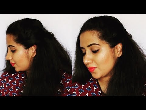 (हिंदी) HOW TO DO SIDE PUFF IN 30 SECONDS | Happy Pink Studio