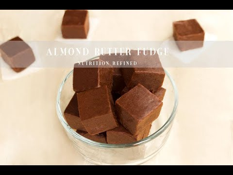 Raw Almond Butter Fudge | Vegan, Paleo
