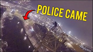 CRAZY POLICE ESCAPE IN AMSTERDAM FOR NEW YEAR!