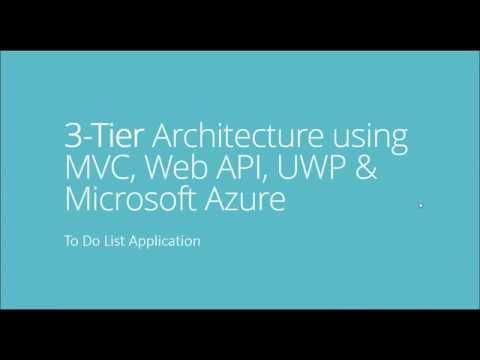 3-tier Architecture using MVC, Web API, UWP & Microsoft Azure - Part 1 - Urdu/Hindi Language