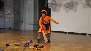 GATKA DURING  TALENT HUNT  2016 BY JASVED SINGH @ PS 90, NEW YORK, USA