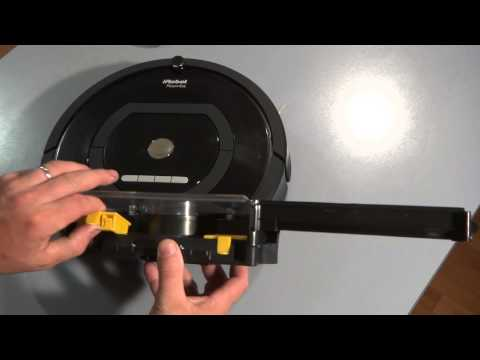 How To Clean and Replace the Filters on the Vacuum Bin on iRobot Roomba 700 Series