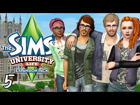 Let's Play The Sims 3 University Life - Ep. 5 - Forbidden Fruit Seed!