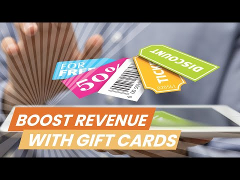 Increase Revenue Through Gift Card Sales