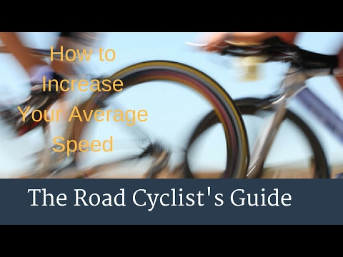 Increase Your Average Cycling Speed