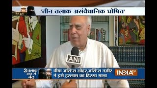 Kapil Sibal,Subramanian Swamy react to SC