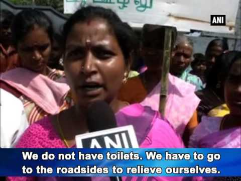 Dalit villagers in Coimbatore allege discrimination over toilet construction