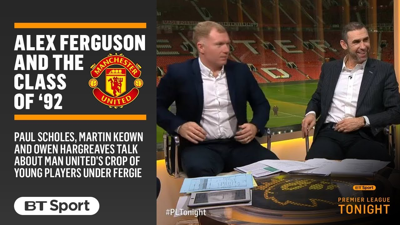 Fascinating discussion with Paul Scholes about Sir Alex Ferguson and the Class of '92