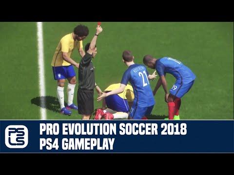 Pro Evolution Soccer 2018 PS4 Gameplay (Open Beta)