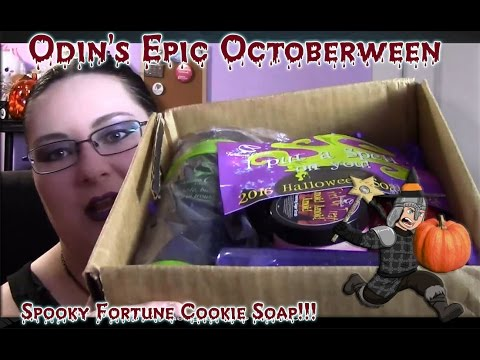 Odin Reviews Spooky S....: Halloween Fortune Cookie Soap Box