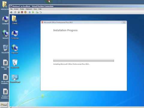 How to install the Office 2013 in Windows 7